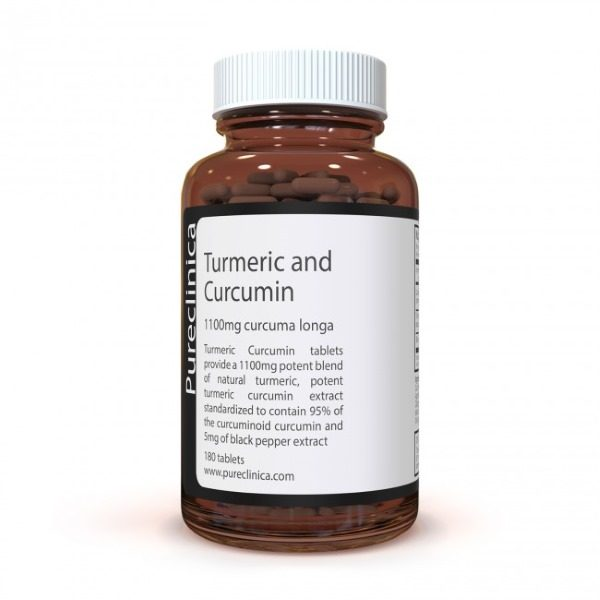 Pureclinica Turmeric and Curcumin